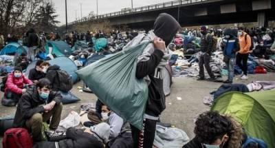 В Германии сообщили о тысячах мигрантов, прибывших из Белоруссии