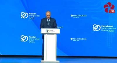 Путин считает, что рост цен на газ в Европе стал следствием дефицита электроэнергии