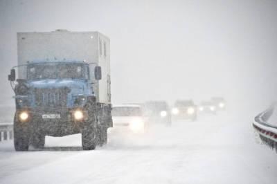 Метель ожидается на севере Красноярского края