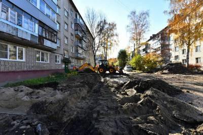 В Дзержинском районе Ярославля благоустроенных дворов станет больше