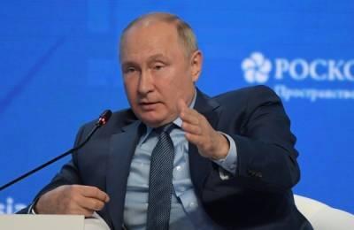 Владимир Путин заявил о возможном рекордном росте ВВП России по итогам 2021 года