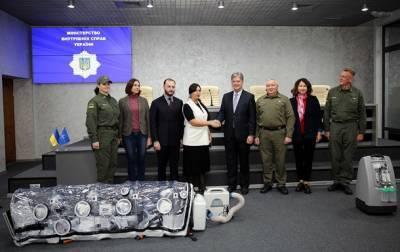 Украина получила от НАТО гуманитарную помощь для борьбы с COVID-19 (фото)