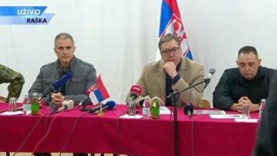 Вучич косовским сербам: «Мы в любом случае будем с вами и выиграем...