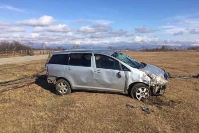 В Бурятии пьяная женщина без прав села за руль и попала в больницу