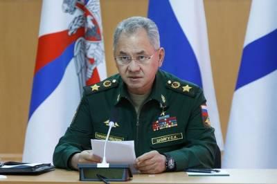 Министр обороны РФ Сергей Шойгу прибудет в Омск
