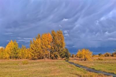 В Омске при пасмурном и ясном небе воздух прогреется до +12