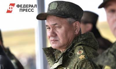 В Омск прилетел министр обороны РФ Сергей Шойгу