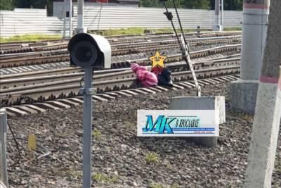 В Ярославской области малышей спасли от смерти на рельсах