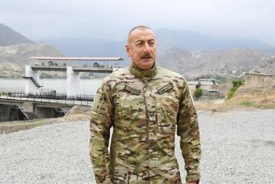 Алиев назвал условие для начала делимитации границы Азербайджана с Арменией