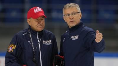 Николишин назвал клоунадой ситуацию с назначением тренеров в сборной России по хоккею