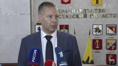 Временно исполняющий обязанности губернатора Ярославской области Михаил Евраев приступил к работе