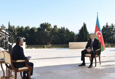 Хроника Победы: Интервью Президента Ильхама Алиева турецкому телеканалу A Haber от 16 октября 2020 года (ФОТО/ВИДЕО)