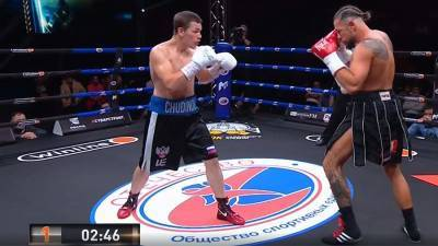 Чудинов выиграл бой против Миттага и завоевал титул WBA Gold