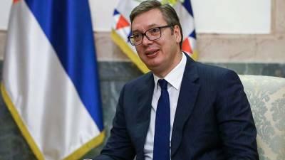 Вучич заявил о намерении обсудить с Путиным цены на газ