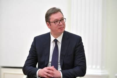 Вучич сообщил о намерении обсудить с Путиным вопрос поставки газа