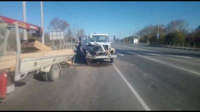 Три автомобиля столкнулись на проспекте Мира областного центра