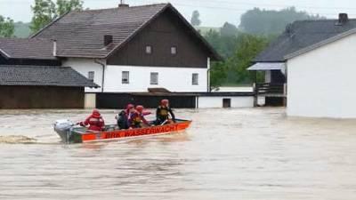 Германский Красный Крест продолжит зимой помогать пострадавшим от наводнения на западе ФРГ