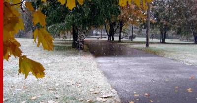 В Москву придет первый снег, предупредили синоптики