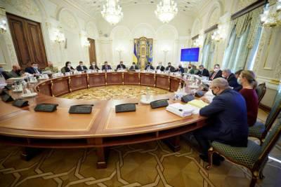СНБО Украины принял новый оборонный план