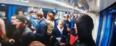 СКР предъявил обвинения в хулиганстве трем участникам конфликта в метро Москвы