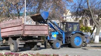 Ежедневно из Пензы вывозят более 50 кубометров опавшей листвы