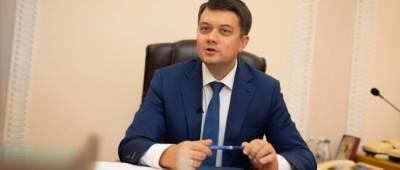 «Слуги народа» уже собрали подписи за отставку Разумкова
