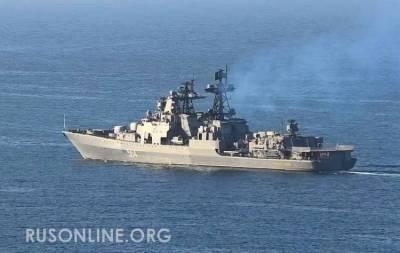 И это наши союзники? Поляки в шоке после инцидента между кораблями России и США