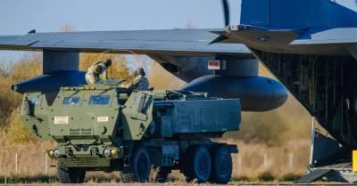 ФОТО: Американцы показали мощность многоствольной ракетной системы в Спилве