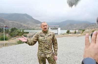 Президент Ильхам Алиев: Освобождение села Талыш и Суговушана дало нам большое моральное преимущество