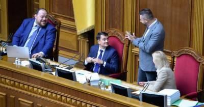 "В ""Слуге народа"" назвали главного кандидата на пост Разумкова"