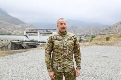 Президент Ильхам Алиев: Реализуется очень серьезная программа по рациональному использованию водных ресурсов на освобожденных территориях