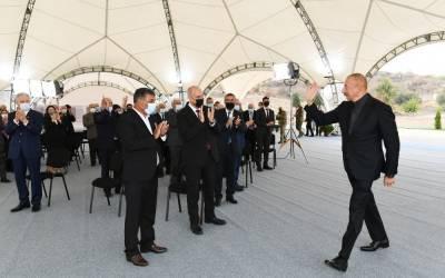 Президент Ильхам Алиев: 4 октября - день освобождения Джебраила навсегда останется в нашей истории