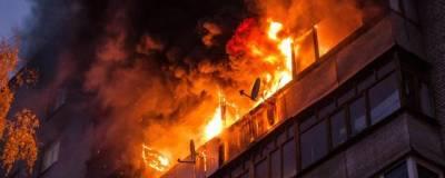На юге Москвы в результате пожара погибли женщина и ребенок, пострадали семь человек
