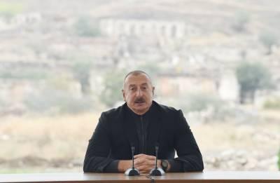 Президент Ильхам Алиев: Освобождение Джебраила началось пять лет назад
