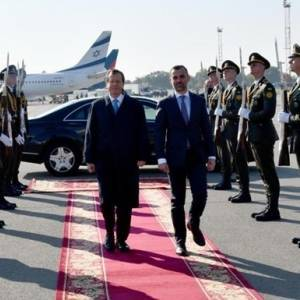 В Украину прибыл с визитом президент Израиля