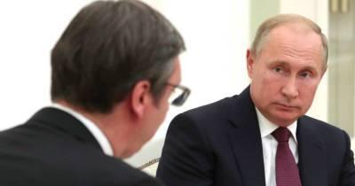 Вучич попросит Путина помочь Сербии на фоне энергокризиса в ЕС