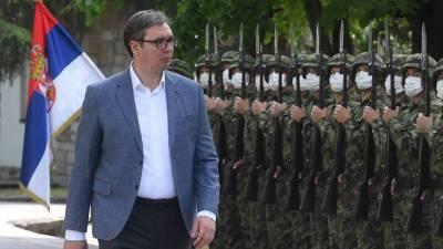 Вучич отказался от вступления Сербии в ЕС