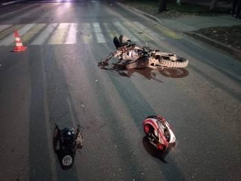 Несовершеннолетний мотоциклист разбился в Вологодской области