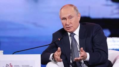 Британские СМИ связали резкое падение цен на газ с заявлениями Путина