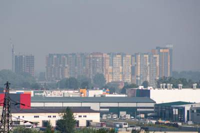 Очередная волна вони накрыла Новосибирск утром 7 октября