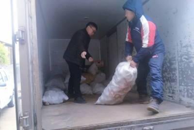 Район Бурятии безвозмездно отправил картошку пострадавшим от паводка в Улан-Удэ