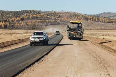 Глава Бурятии проверил ремонт автодороги от Улан-Удэ на Хоринск