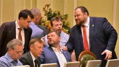 «Слуга народа» поддержала кандидатуры Стефанчука и Корниенко на должности спикера и первого зампредседателя Рады