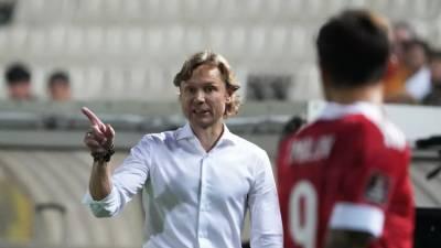 Карпин рассказал, будет ли Кузяев капитаном в матче со Словакией