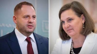 Глава офиса президента Украины обсудил Донбасс с замгоссекретаря США