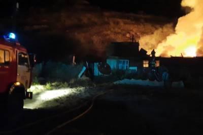 В районах Бурятии за минувшие сутки произошло три пожара на подворьях
