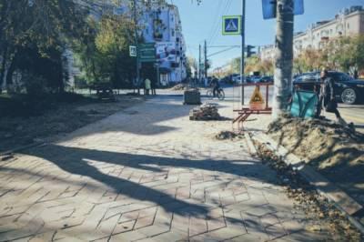 Жители недовольны укладкой брусчатки в центре Комсомольска-на-Амуре