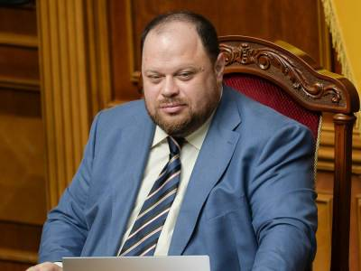 Стефанчук стал новым главой Верховной Рады