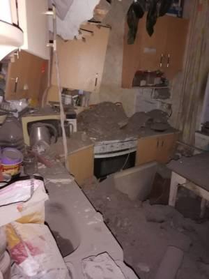 В Златоусте проведут экспертизу в доме, где рухнул потолок