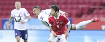 Сборная России обыграла Словакию в отборочном матче чемпионата мира по футболу